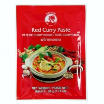 red curry paste 50g marque coq