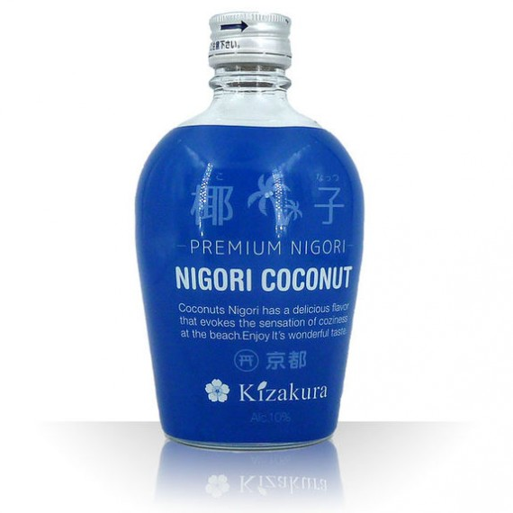 saké junmai nigori coconut 10% 300ml