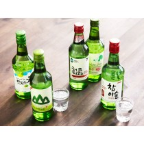 Chum Churum soju coréen goût citron 14% 360ml