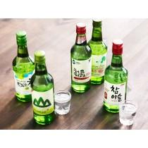Soju coréen à la fraise 13% JINRO 360ml
