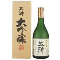 Saké Goshin au riz yamada nishiki 720ml