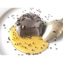 Base pour dessert au sésame noir HOUSE (4 sachets) 70g