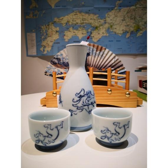 tasse à saké lapin