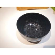 Bol en porcelaine noire Ichkura 13*7cm