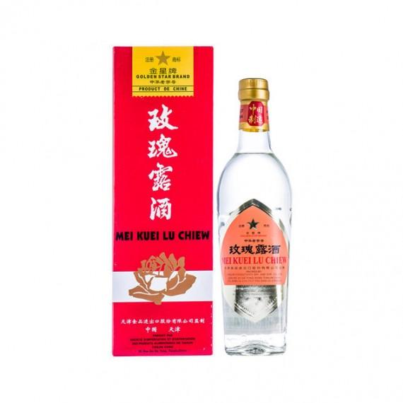 """Liqueur de rose """"Mei Kuei Lu Chiew"""" ETOILE D'OR 54% 500ml - mon panier d'asie"""