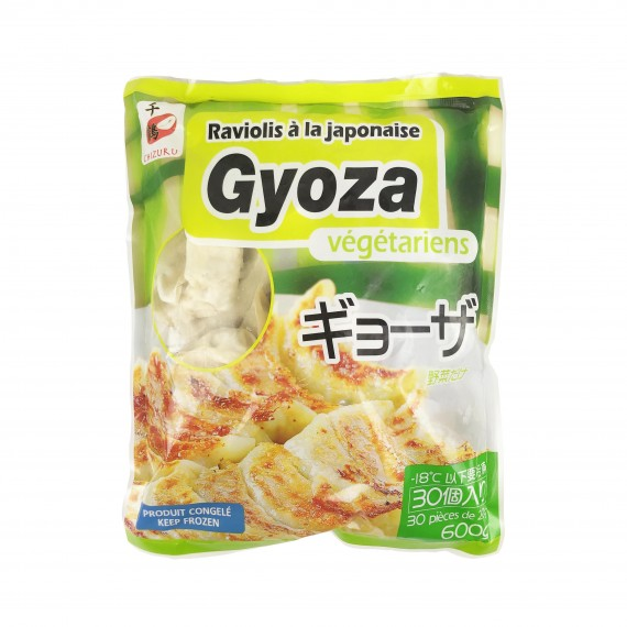 gyoza / raviolis aux légumes CHIZURU 30p / 600g - mon panier d'asie