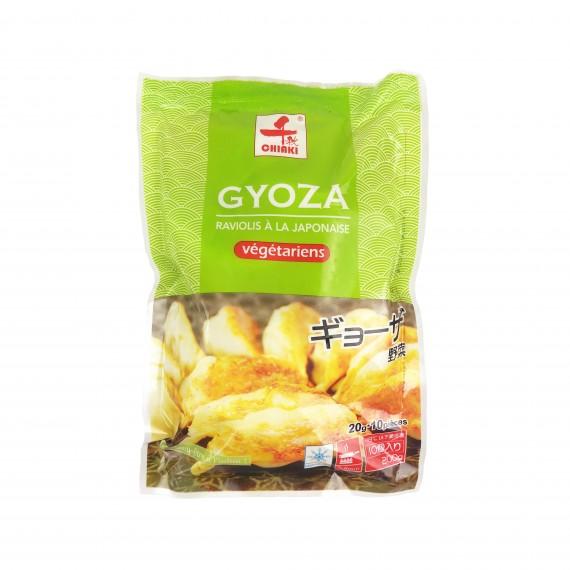 gyoza / raviolis aux légumes CHIAKI 10p / 200g - mon panier d'asie