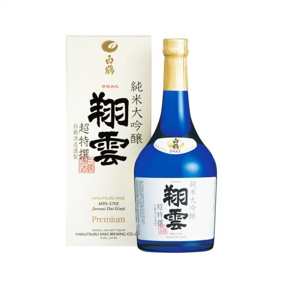 Saké Spécial Junmai Daiginjo Tokusen HAAKUTSURU 720ml - mon panier d'asie