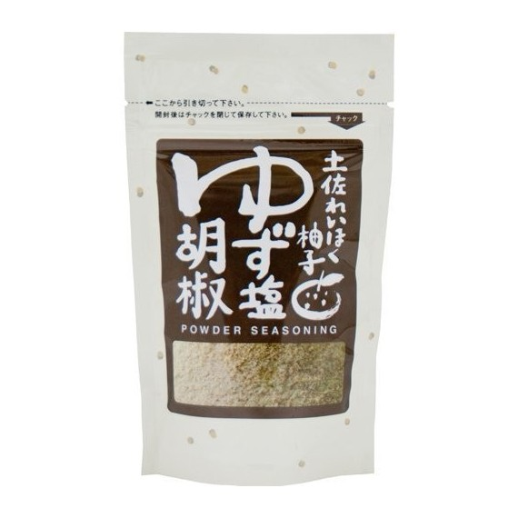 sel poivre au yuzu tosa 70g - mon panier d'asie