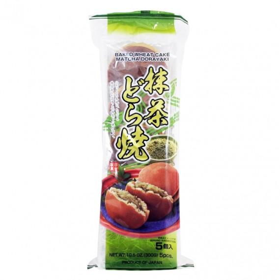 Dorayaki Pancake Japonais fourré au thé vert 300g - mon panier d'asie