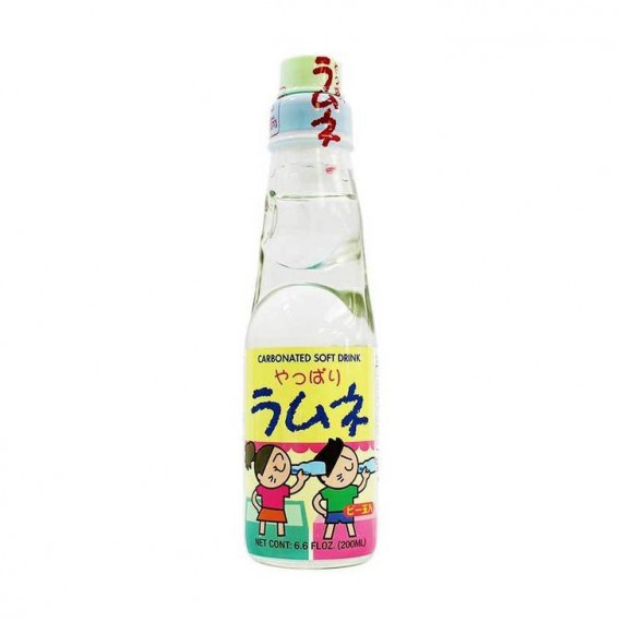 Ramune Limonade Japonaise Nature SANGARIA 200ml - mon panier d'asie