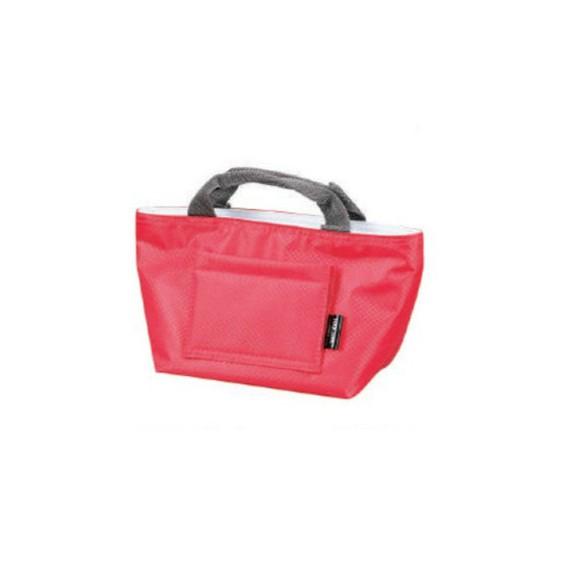 sac lunch bag red - mon panier d'asie