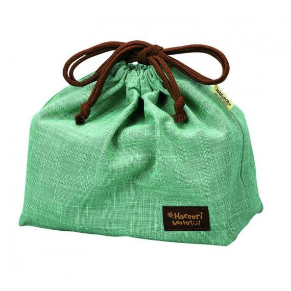 sac à bento vert - mon panier d'asie