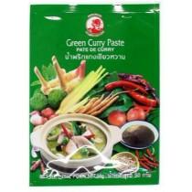 green curry paste 50g marque coq - mon panier d'asie