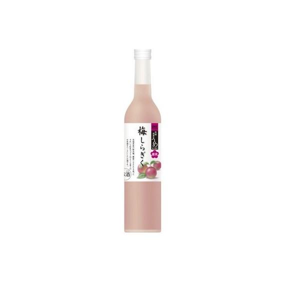 Boisson spiritueuse à la prune rouge Shiragiku 13% 500ml - mon panier d'asie