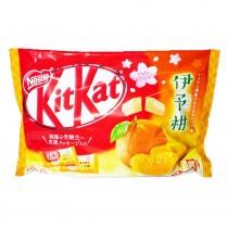 KitKat mini goût mandarine 146g - mon panier d'asie
