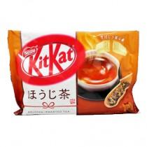KitKat mini goût hojicha thé vert torréfié 12pcs - mon panier d'asie