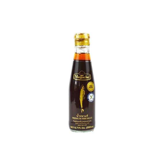 sauce poisson megachef 200ml - mon panier d'asie