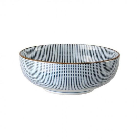 Tokyo Design Studio Sendan Tokusa Blue Bol Ø 21,5 cm