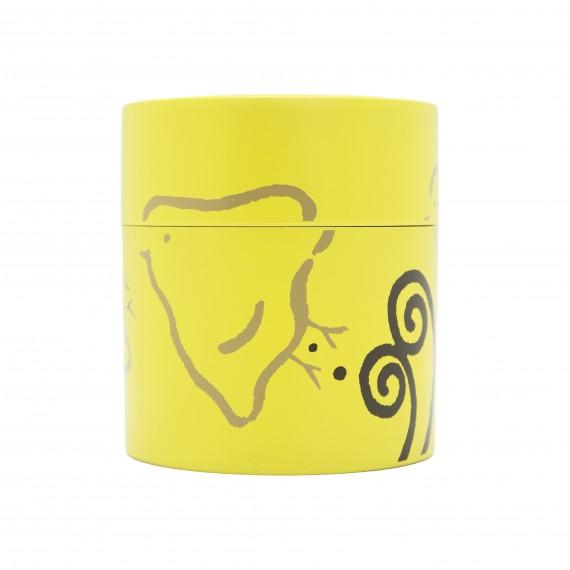 Boîte à thé Motif oiseau jaune 350ml - mon panier d'asie