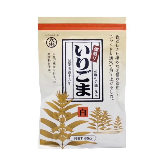 Graines de sésame blanches KUKI 65g - mon panier d'asie