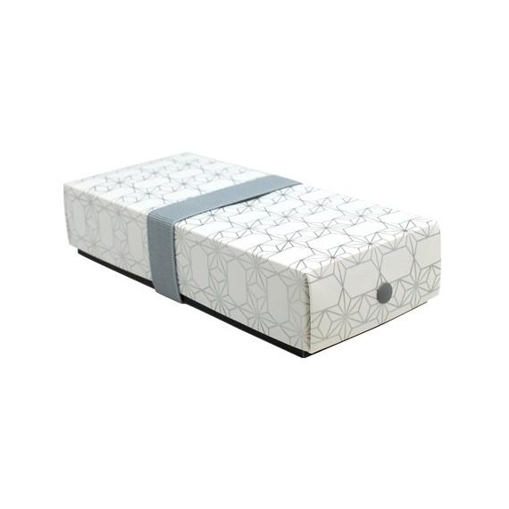 bento hosho gris argent taille s 490cc mon panier d 39 asie. Black Bedroom Furniture Sets. Home Design Ideas