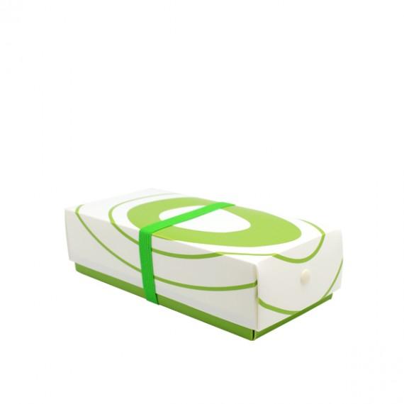 Bento HOSHO vert oignon taille M 620cc - mon panier d'asie