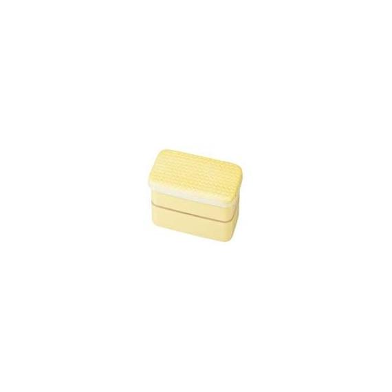 Bento couleur unie jaune 500ml - mon panier d'asie