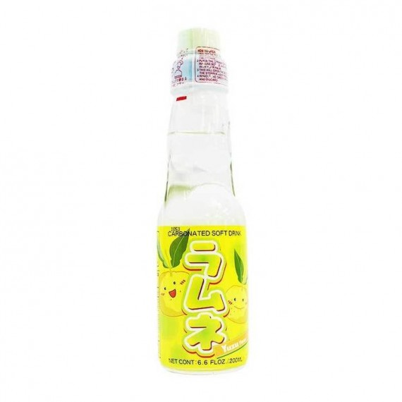 Ramune Limonade Japonaise au yuzu 200ml - mon panier d'asie