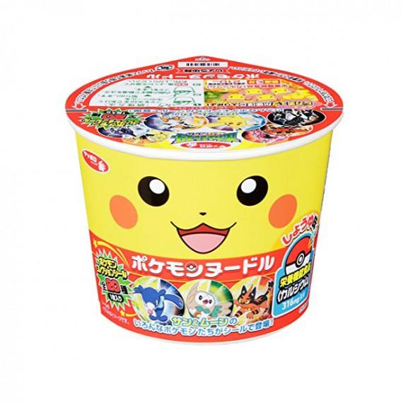 Sapporo Pokemon noodle Shoyu 38g - mon panier d'asie