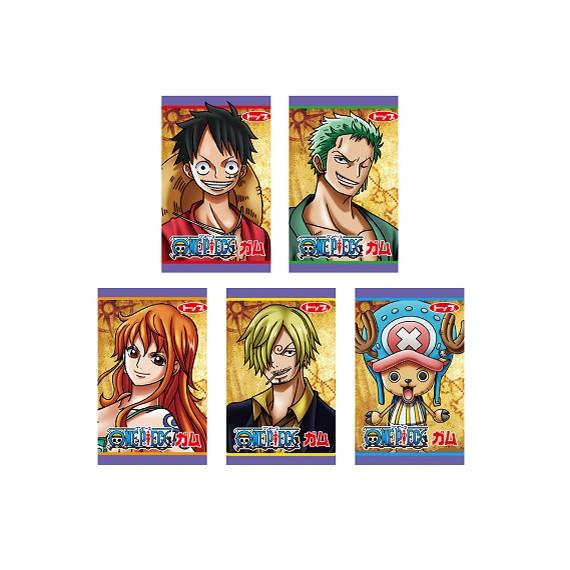TOP SEIKA One Piece Chewing Gums 5pcs - mon panier d'asie