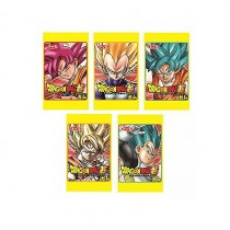 TOP SEIKA Dragon Ball Super Chewing Gums 5pcs - mon panier d'asie