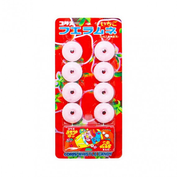 CORIS Whistle Candy - Strawberry 30g - mon panier d'asie