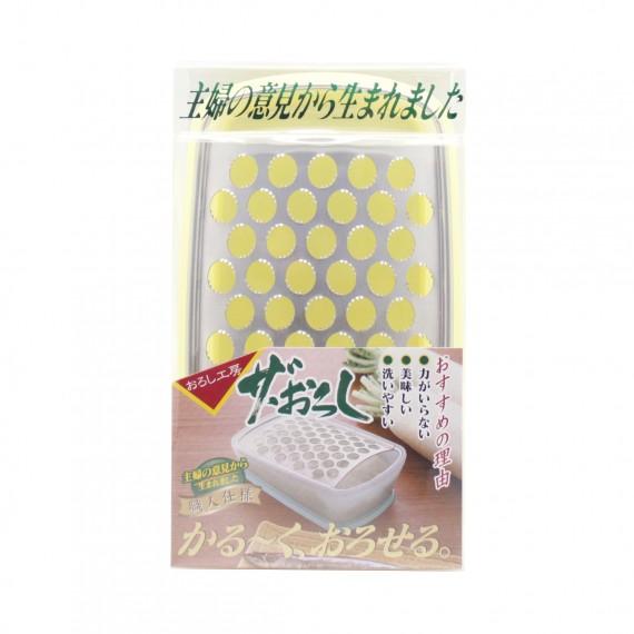 Mandoline pour radis blanc en jaune