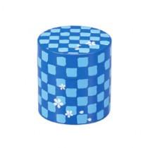 Boîte à thé bleue ichimatu 350ml