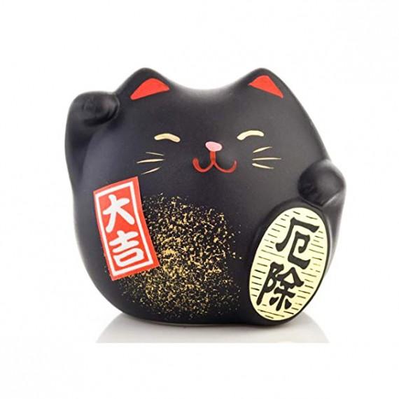 Porte-Bonheur Chat Noir - mon panier d'asie