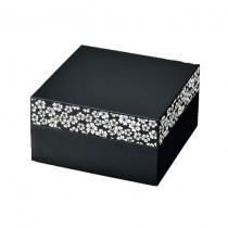 Bento 2 étages motif sakura blanc 2400ml