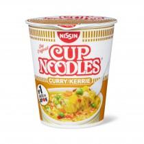 Nissin Cup Noodle curry & poulet 64g