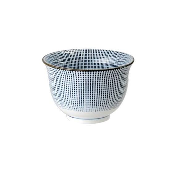 Tokyo Design Studio Sendan Tokusa Blue Tasse Japonaise 190 ml - mon panier d'asie