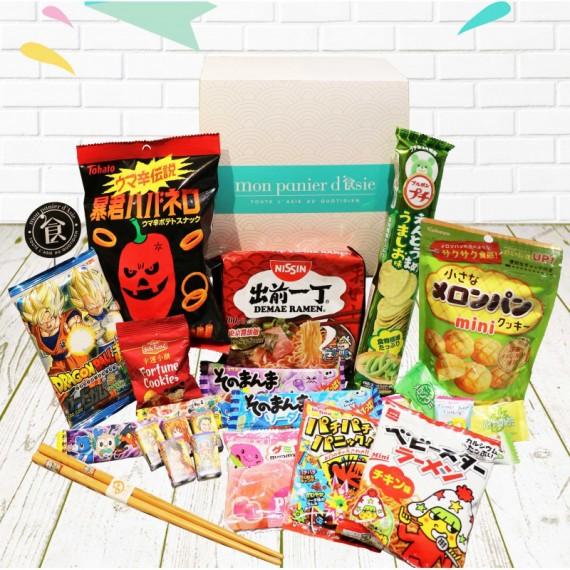 My snack box découverte Numéro 1 - mon panier d'asie