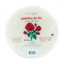 Galette de riz rose ronde 22cm 454g