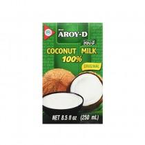 Lait de coco 100% AROY-D 250ml - mon panier d'asie