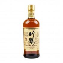 Whisky japonais Taketsuru 21 ans NIKKA 43% 700ml