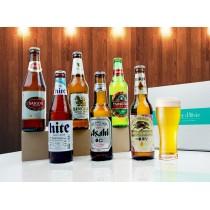 Coffret 6 bières asiatiques