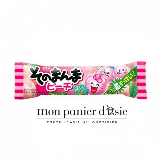 SONOMANMA Peach Bubble gum 14,4g - mon panier d'asie