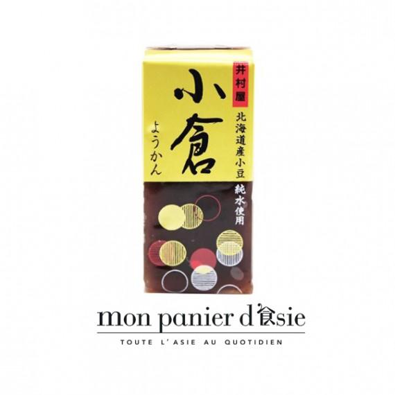 Yokan dessert japonais traditionnel aux haricots rouges IMURAYA 58g