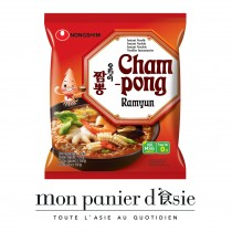 Nouilles instantanées aux fruits de mer Champong NONGSHIM 124g