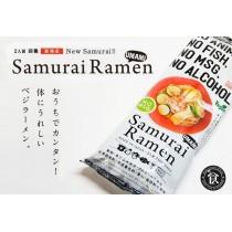 Ramen séché samurai végétal avec sauce Higashimaru 220g