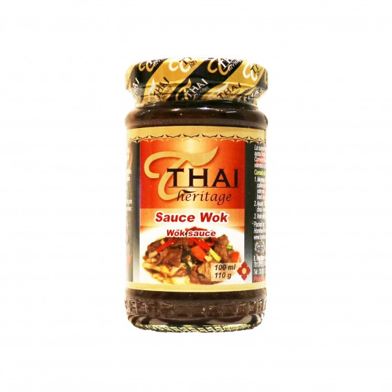 Pâte de sauce wok THAI HERITAGE 110g - mon panier d'asie