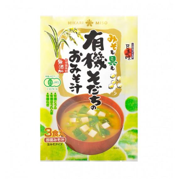 Soupe miso instantanée au tofu BIO 52g - mon panier d'asie